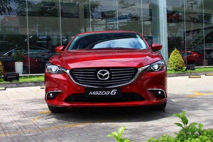 Mazda 6 Facelift 2018 ưu đãi tốt tại TP.HCM 0
