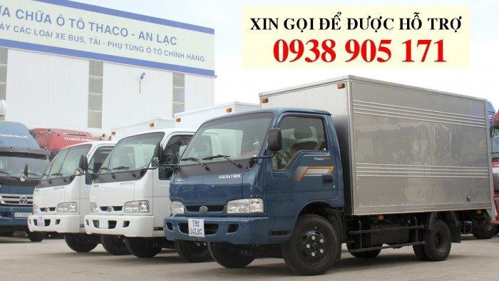 Xe tải Kia K165s tải trọng cao 2400KG, xe mới đời 2017 chạy vào được thành phố