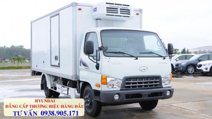 Xe tải đông lạnh Hyundai tải trọng 6 tấn và 5 tấn, đời mới 2017. Có hỗ trợ trả góp, ra số toàn quốc, giao xe tại nhà