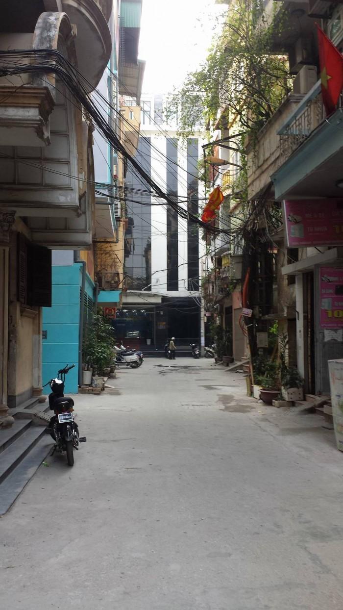 Bán gấp nhà phố Tây Sơn 28m2, ô tô tránh, KD tốt