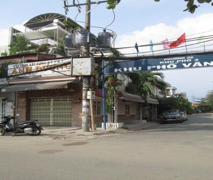 Nhà góc 2 mặt tiền đường Nguyễn Xí, quận Bình Thạnh