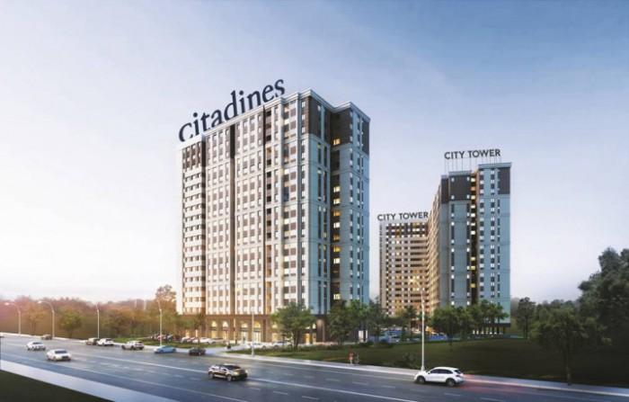 Bán căn hộ giá rẻ City Tower mặt tiền Đại lộ Bình Dương giá chỉ từ 16tr/m2