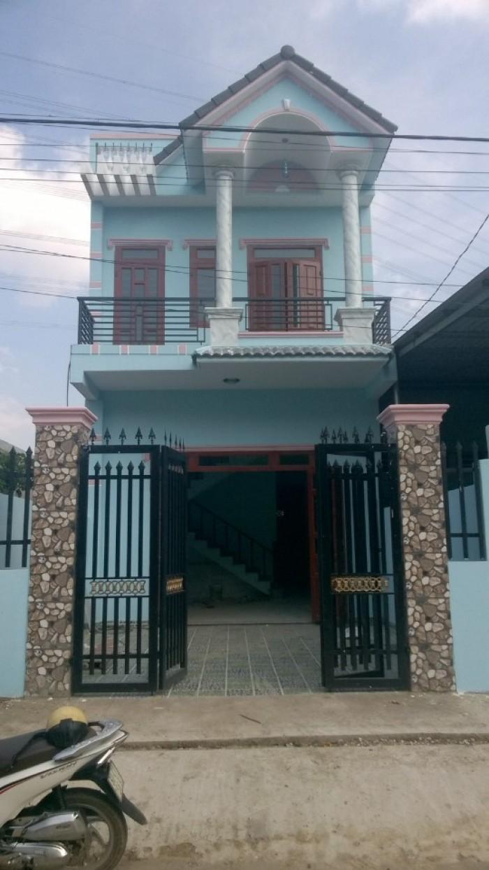 Bán Nhanh Nhà 1 Trệt 1 Lầu SHR – Diện tích 100m2 – Đường Chu Văn An, Phường An Phú