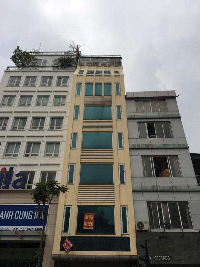 Bán nhà mặt phố Bà Triệu diện tích 90m2x 5 tầng, mt 5.2m giá 58 tỷ.