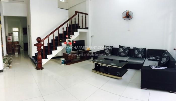 Cho thuê nhà kiệt 5m đường Trần Văn Dư, 3 phòng ngủ, đầy đủ tiện nghi.