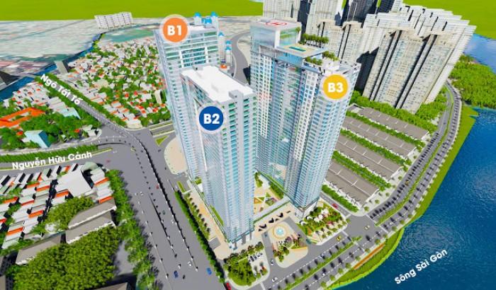 Nhận giữ chỗ ưu tiên chọn căn đẹp dự án Sunwah Pearl mặt tiền Nguyễn Hữu Cảnh