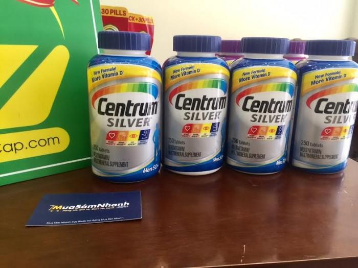 Centrum Silver Ultra Men's 50+ đến từ Mỹ là cách để dễ dàng, an toàn và hiệu quả nhất để bổ sung các chất cần thiết cho cơ thể.