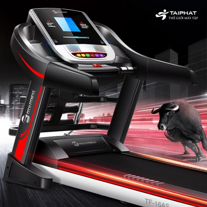 Máy chạy bộ điện đa năng tech fitness tf-16as1