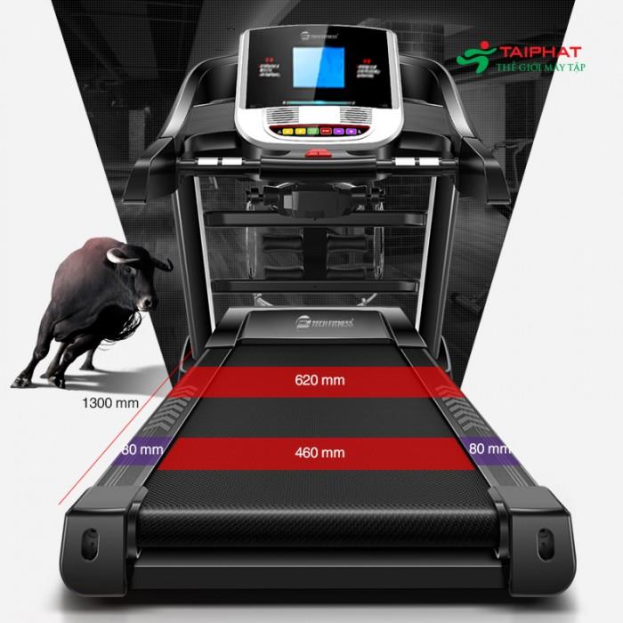 Máy chạy bộ điện đa năng tech fitness tf-16as4
