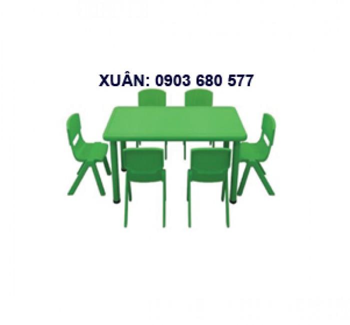 Bàn ghế mầm non chất lượng cao13
