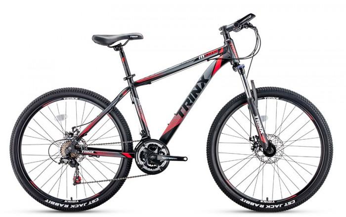 Xe đạp Trinx M136 2017, mới 100%, miễn phí giao hàng, màu đen đỏ