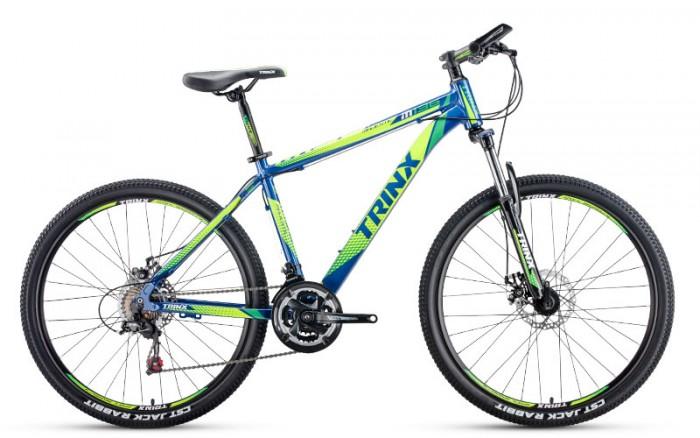 Xe đạp Trinx M136 2017, mới 100%, miễn phí giao hàng, màu xanh dương