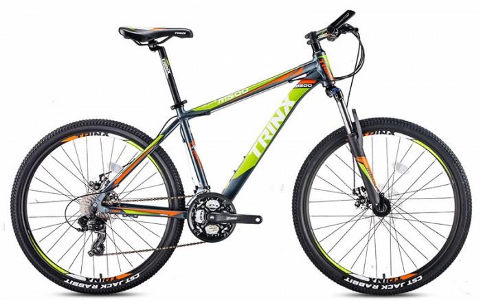 Xe đạp Trinx M500 2017, mới 100%, miễn phí giao hàng, màu đen xanh lá