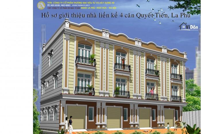 Chính chủ bán nhà 3 tầng xây mới, sổ đỏ thổ cư, DTSD 100m2 giá 998 triệu