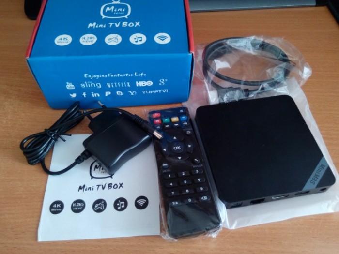 Android TV Box Mini M8S II S905X 2GB/8GB - Free ship toàn quốc, thanh toán COD5