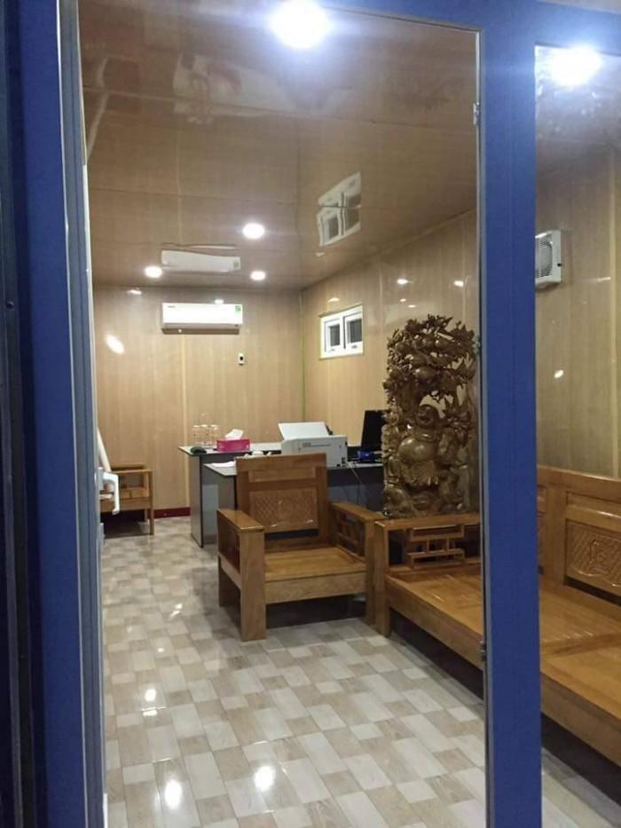 Cont kho và văn phòng tại đà nẵng