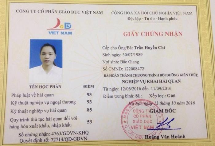 Học nghiệp vụ khai hải quan tại Nha Trang, Đà Nẵng, Hà Nội, Hcm Và Toàn Quốc