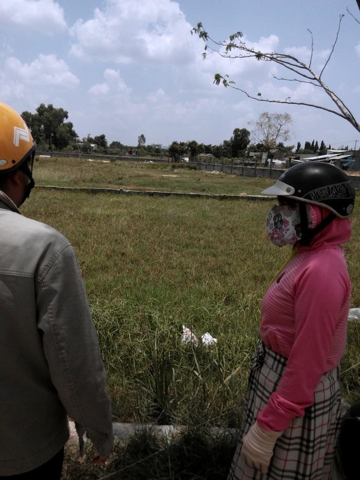 Đất xây nhà trọ ngay trung tâm huyện Đức Hòa gần bệnh viện, Trường Học, KCN