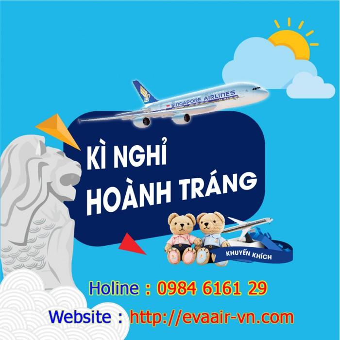 Chi tiết liên hệ Văn Phòng Singapore cùng chuyến bay Singapore Airlines chi nhánh tại Việt Nam Liên hệ đặt vé đi Singapore 0984 6161 29 Truy cập website evaair-vn.com để biết thêm chi tiết về chuyến bay đến Singapore, những ưu đãi khuyến mãi dành cho khách hàng