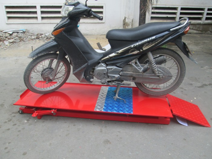 Bàn nâng cơ, Bàn nâng xe máy đạp chân sửa xe honda giá rẻ