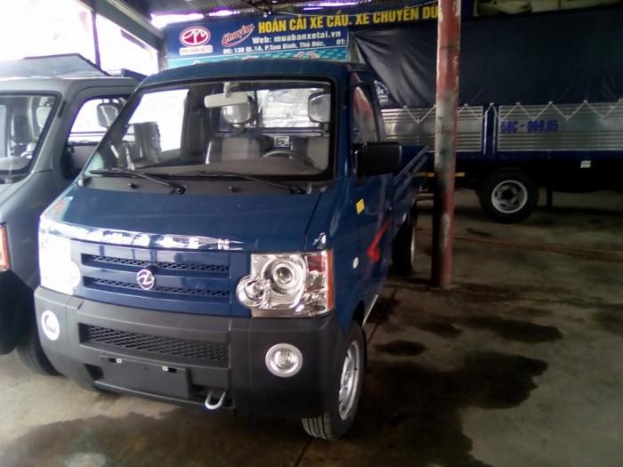 Giá xe tải nhỏ 850kg Dongben, thùng dài 2m5, mới 100%