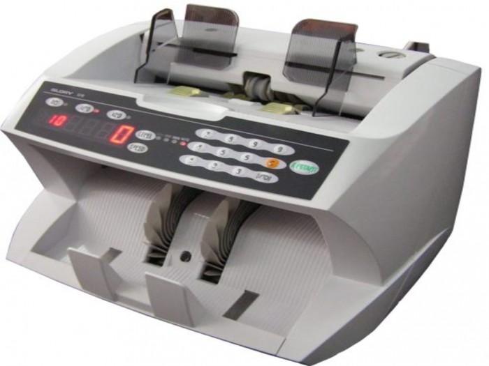 Máy Đếm Tiền GLORY GFB-8000