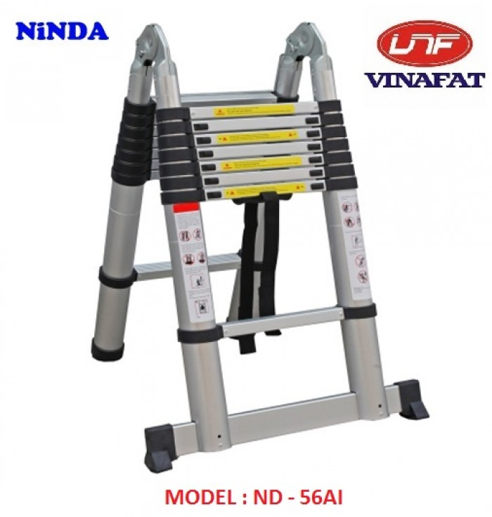 Thang nhôm xếp đôi ND-56AI2