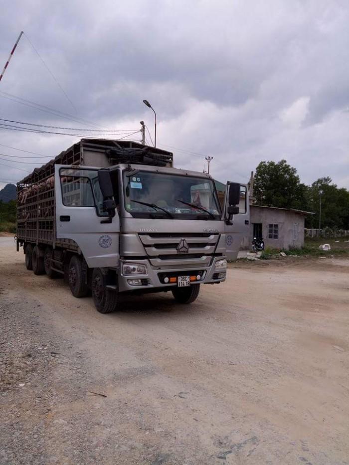 Bán xe tải Howo Tại thị trấn Nga sơn Thanh Hóa.