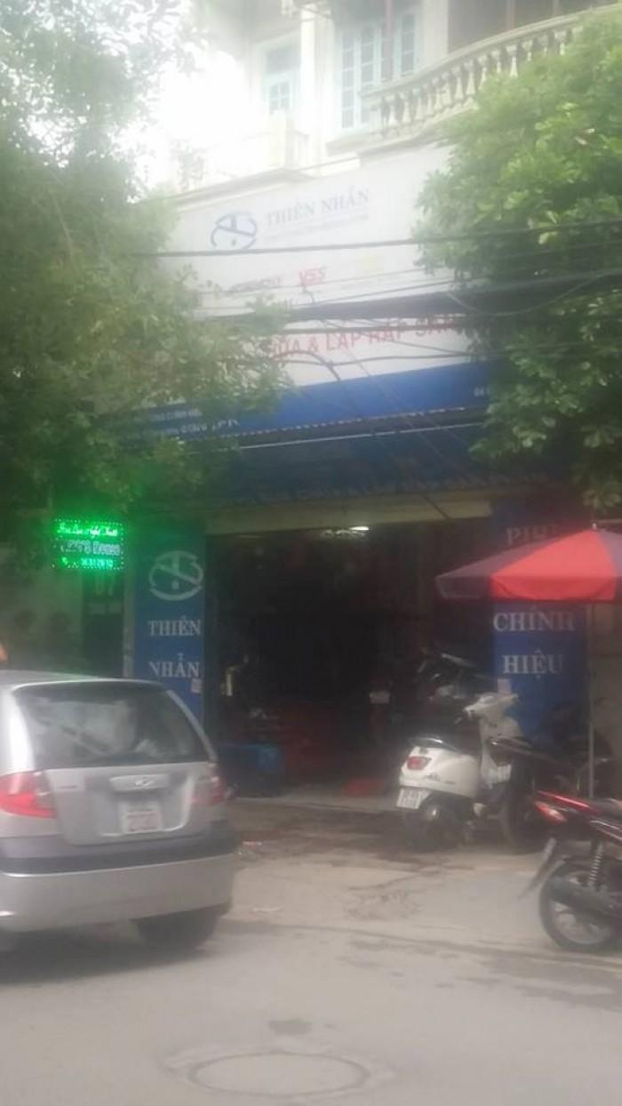 Bán nhà mặt phố Trung Kính Cầu Giấy Hà Nội 59,4m mặt tiền 5,4m