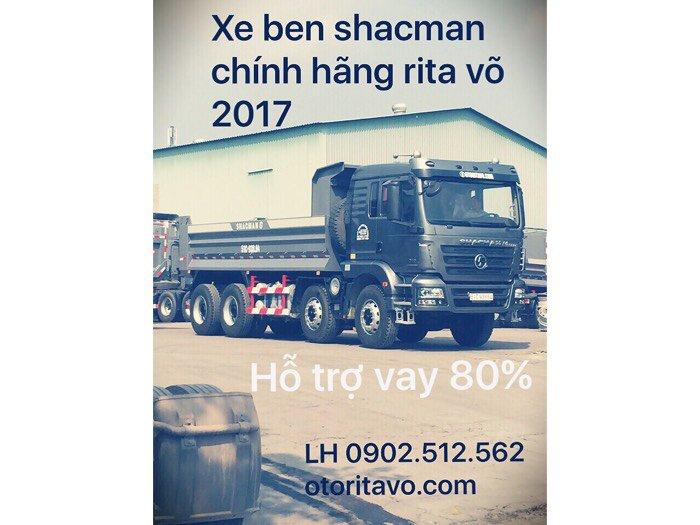 Mua xe ben shacman 2017 ở đăk Nông có khuyến mãi cực sốc