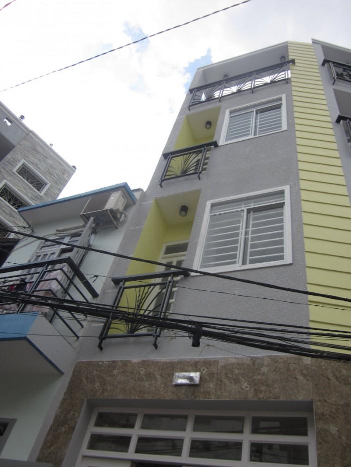 Bán GẤP nhà đẹp HXH Nơ Trang Long, 56mX4L, P.11, Q.Bình Thạnh chỉ 5,55 tỷ.