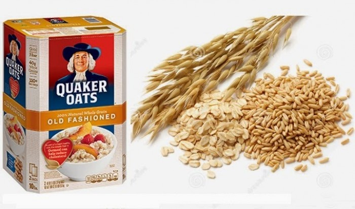 Yến mạch nguyên hạt Quaker Oats từ Mỹ - thực phẩm dinh dưỡng hiệu quả cho giảm cân1