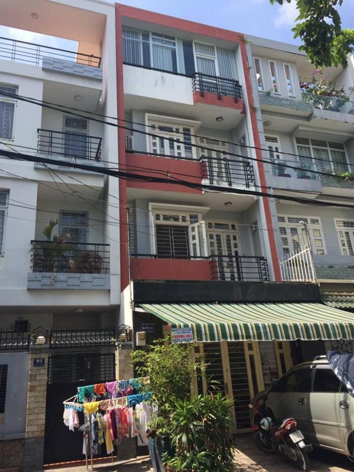 Bán nhà MT Đường 53 , 5 x 16m, 3.5 tấm, giá 4.4 tỷ ,P Tân Tạo, Q.Bình Tân