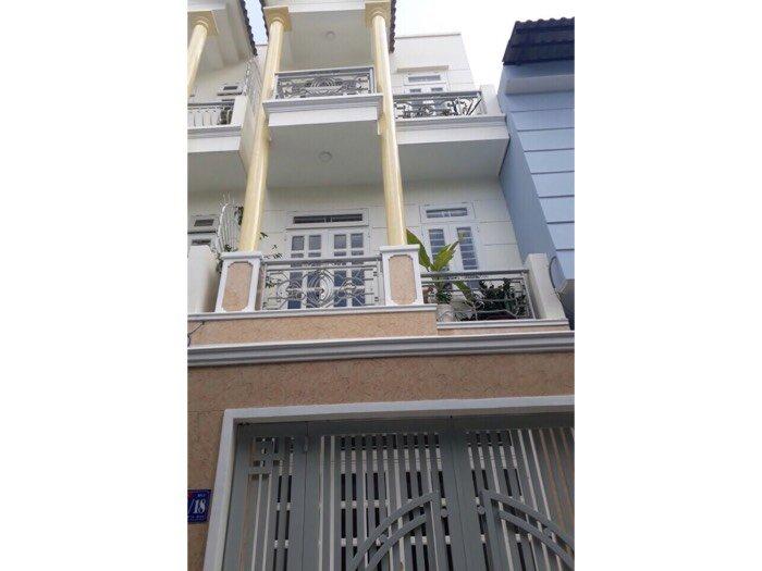Nhà 1 trệt 2 lầu đường 59, p14, DT 4x15,5m , 4PN, Quận Gò Vấp