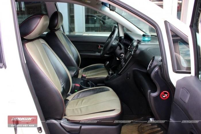 Bán Kia Carens S 2.0MT màu trắng 2015 số sàn full options 2