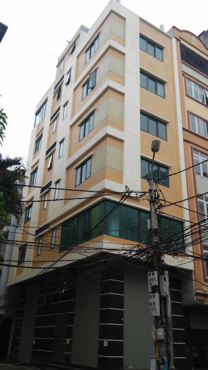 Bán tòa nhà mặt phố lô góc Nguyễn Xiển diện tích 55m2x 7 tầng, mt 4.7m giá 14.5 tỷ.
