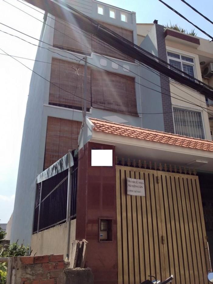 Cho Thuê nhà MT 4 lầu Hồ Bá Phấn Phước Long A, Quận 9. Tphcm