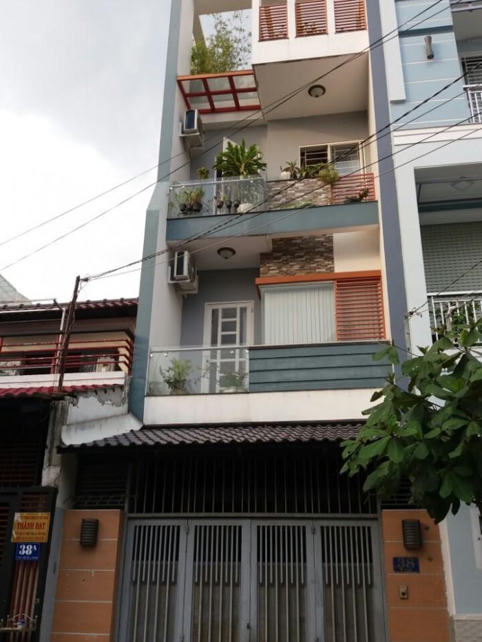 Bán nhà MT Gò Dầu 2 lầu sân thượng
