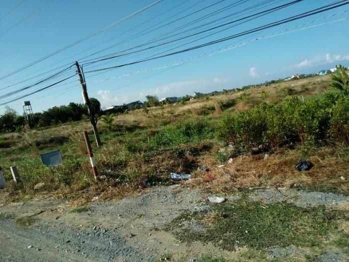 Đất đầu tư và kinh doanh nhà trọ, MT Quốc lộ 50, giá chỉ 4,5 triệu/m2.
