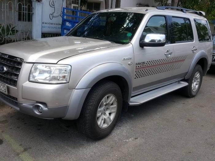 Bán xe Ford everest 2009, Máy dầu, Số tự động