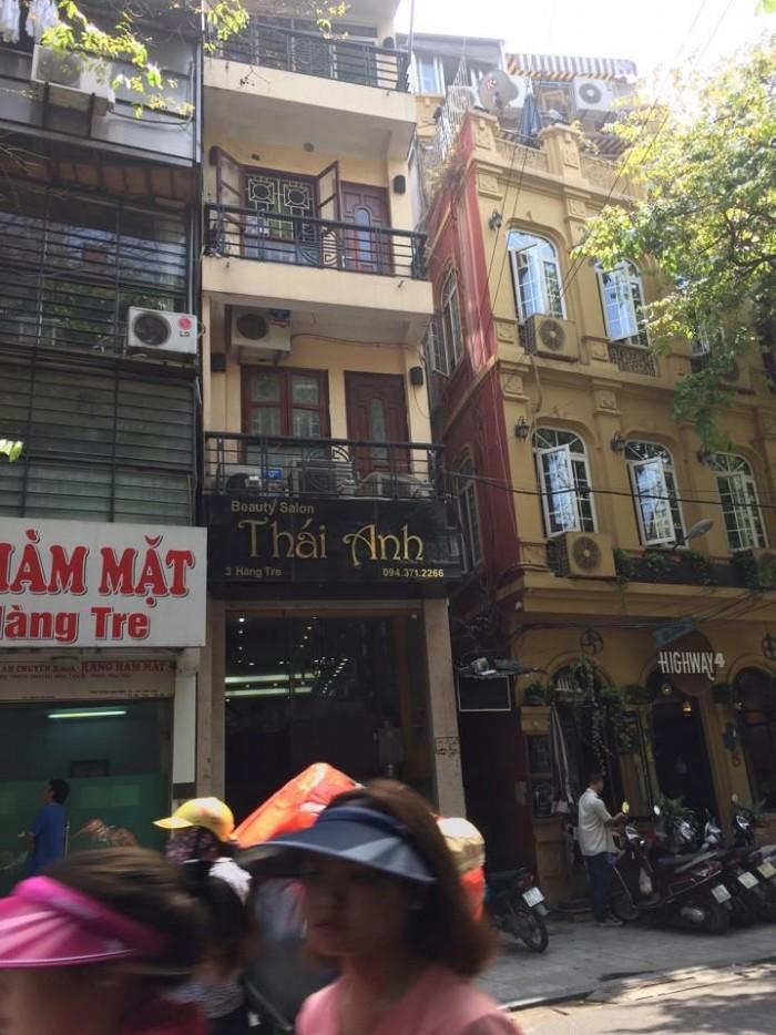Bán nhà mặt phố Hàng Tre Hoàn Kiếm Hà Nội 60m2 mt 3,3m 5 tầng