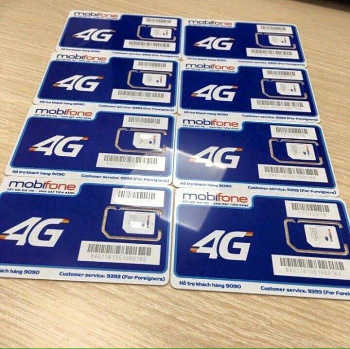 Sim 3G.4G Mobifone tặng 124GB data tốc độ cao 2 tháng3