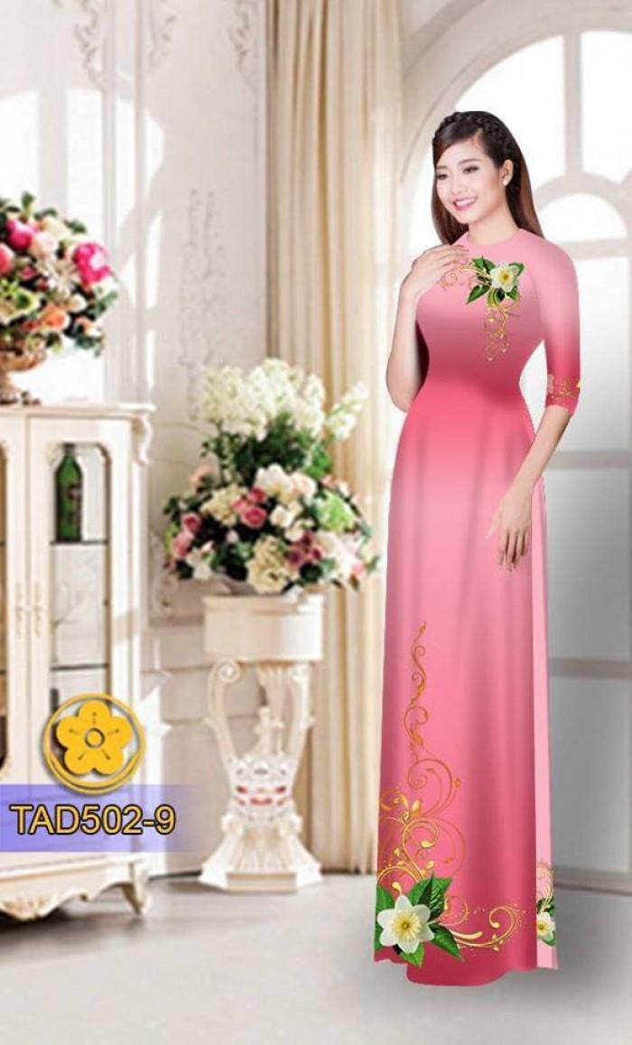 Vải áo dài hoa đẹp17