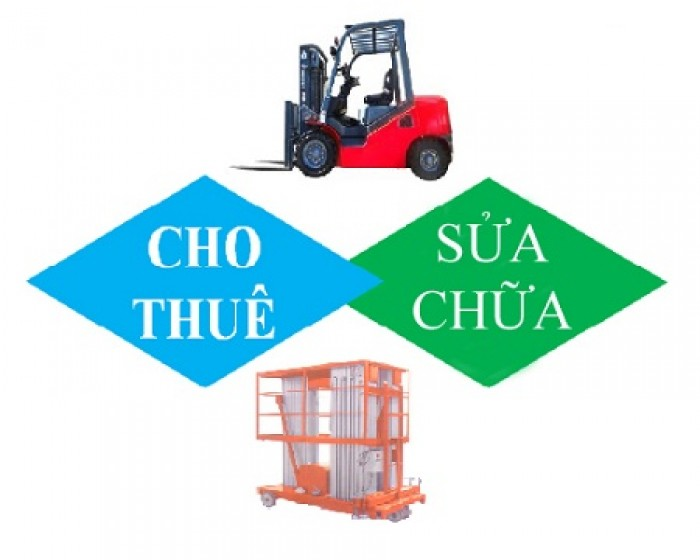 Cho thuê xe nâng, bảo trì sửa chữa xe nâng, cung cấp phụ tùng xe nâng giá rẻ tại Hồ Chí Minh