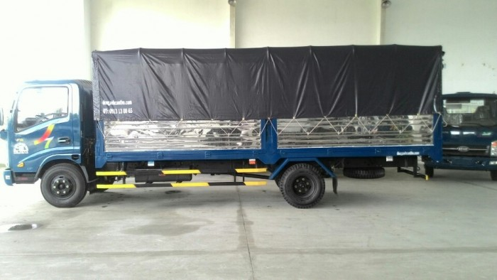 Xe veam vt260 tải 2tan thùng kín dài 6m 0