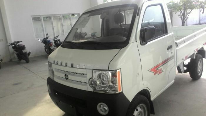 Xe tải Dongben mui bạc 810kg. khuyến mãi lớn