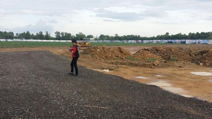 Đất nền mặt tiền Q.9 Đường Vành Đai DTC, SDR