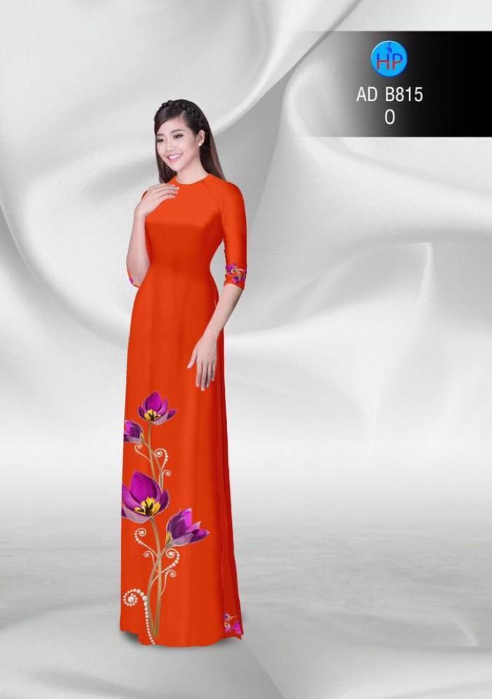 Vải áo dài hoa đẹp4