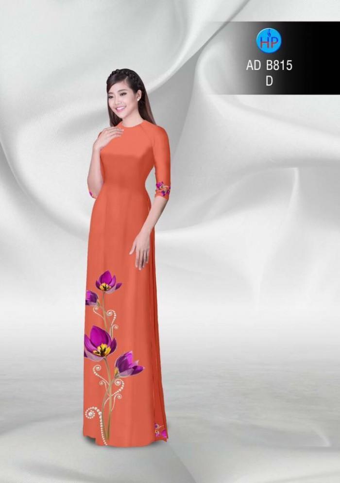 Vải áo dài hoa đẹp5