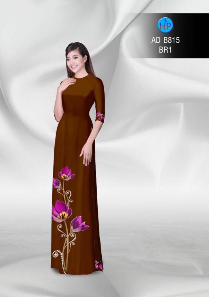 Vải áo dài hoa đẹp8